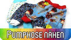 Nähen lernen: Pumphose für Babys und Kleinkinder nähen   Nähen für Anfän...