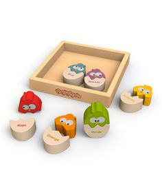 Loving this Color 'n' Eggs English/Spanish Matching Puzzle on #zulily! #zulilyfinds