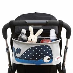 baby shower gift:  This adorable Whale Stroller organizer is a gift every mom-on-the-go needs!
