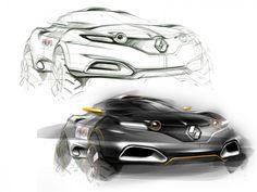 Renault Concept Design Sketching Tutorial