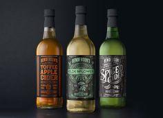 The Dieline Award 2016: Henderson's Cider Redesign- Sand Creative — The Dieline - Branding & Packaging