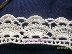 Girlie's Crochet: A Cream Skirt