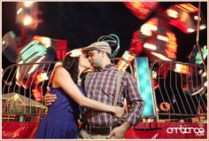 Engagement Session inspired by The Notebook #fair #carnival #kiss