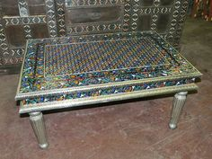 Indian painted furniture, Love it!