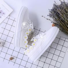 cute little chrysanthemum handicrafts casual shoes  use the discount code: peachybabe for 10% off on any product