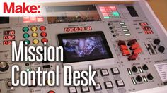 Video: how-to build a 'Mission Control Desk' Awesome #DIY Project