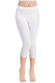 fe22496d6a5d8 Fashion Boomy Cotton Capri Crop Seamed Leggings Tights Plus Size Available  XXXLARGE WHITE -- Continue
