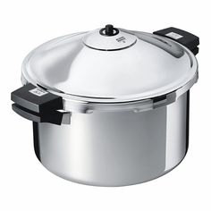 Kuhn Rikon Duromatic Hotel Steamer with Lateral Handle, Stainless Steel, Bakelite, _Æ 28 cm, 10 L, 30332 * See this great image  : Pressure Cookers