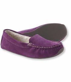 Women's Oceanside Slippers, Fleece-Lined: Slippers   Free Shipping at L.L.Bean