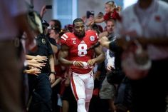 Ameer Abdullah, leading the Huskers to victory, one game at a time! GO BIG RED!