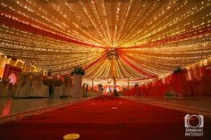 How a Bollywood wedding hall should look like
