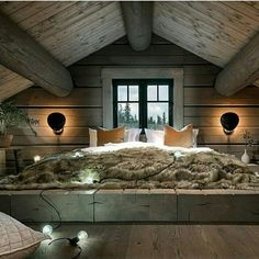 When decorating your rustic bedroom there are a lot of questions to answer. One of the most important is- how rustic do you want it to look. Rustic style in … Cozy Bedroom, Bedroom Decor, Bedroom Ideas, Bedroom Furniture, Pretty Bedroom, Furniture Ideas, Bedroom Girls, Bedroom Images, White Bedroom