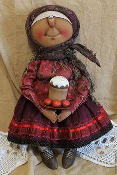 Купить Пасха - комбинированный, текстильная кукла, ароматизированная кукла, интерьерная кукла, Пасха, пасхальный подарок