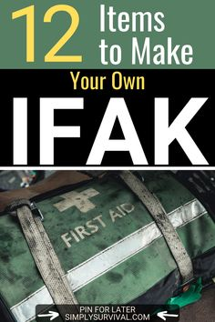 More and more people have an IFAK. In an emergency, this pouch can make a difference between life and death. Here are 12 must-have items in your IFAK bag! Urban Survival Kit, Survival Life Hacks, Survival Prepping, Emergency Preparedness, Survival Gear, Survival Skills, Family Emergency Binder, Tactical Medic, Emergency Preparation