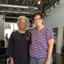 A friend, Maxine, i met through the Harmony project. We were at a spa together!