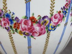 Antique French Sevres Porcelain Bowl 010067 | eBay