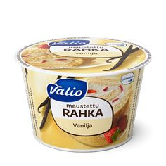 Valio maustettu rahka vanilja laktoositon