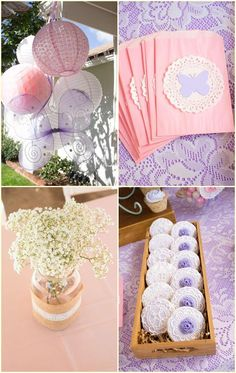 Butterfly Birthday Party Centerpiece Ideas Butterfly Birthday Party Decorations…