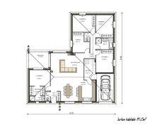 plan belle maison contemporaine (projet n°18)