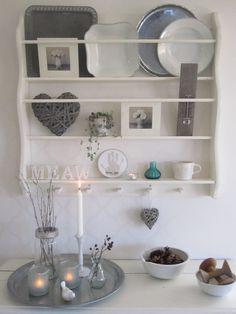Vicky s Home  Ideas para estantes de platos vintage  Ideas for shelves  vintage dishes c2590def09f2