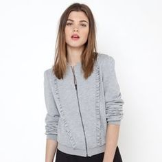 Sweat zippé Mademoiselle R, Preppy Style, Keep Warm, Cardigans For Women, Hooded Jacket, Cashmere, Hair Makeup, Sweaters, Jackets