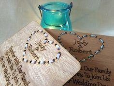 Wedding Invite - Threaded Heart