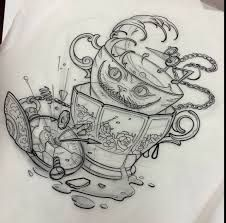 Alice in wonderland tattoos i want dibujos a lápiz, gráfica de tatuaje, dis Tattoos, Future Tattoos, Wonderland Tattoo, Sleeve Tattoos, New Tattoos, Alice In Wonderland Drawings, Disney Tattoos, Beautiful Tattoos, Tattoo Designs