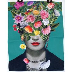 Frida Kahlo Flowers - La Boutique de Petra