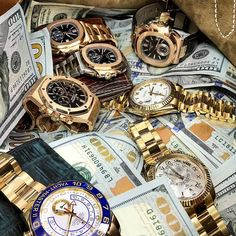 I have a bag full of watches & money and I don't know what to do with it CRM has your wildest watch dreams available Call // Email for Pricing!