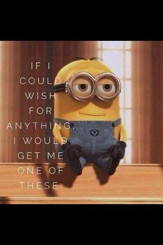 minion despicable me. this is my fav pic of a minion ever. Amor Minions, Minions Quotes, Minions Minions, Citation Minion, Funny Quotes, Funny Memes, Humor Quotes, Funniest Quotes, Happy Quotes