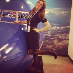 @katier_87. The most beautiful flight attendants of the world. --------------------------------------------------- Airline: #Southwestairlines Country: #USA