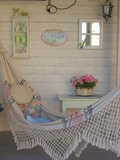 Wonderful relaxing corner - cottage porch with hammock  ************************************************