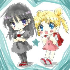 Sailor Moon / Rei and Usagi