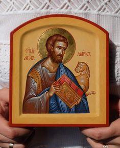 St Mark The Evangelist, Roman Church, Best Icons, Byzantine Icons, Orthodox Christianity, Son Of God, Orthodox Icons, Christian Art, Catholic