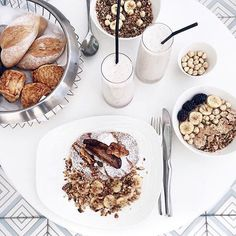 Guys! Because breakfast is the best meal of the day, every day of the week will now be dedicated to something breakfast related that makes my heart sing. Drum roll... Welcome to #BreakfastSpreadFriday in the spirit of Shabbat! Show me how you do it.  by @ohhcouture