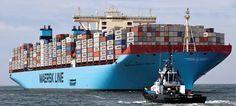 A crew member died and four others went missing after fire broke out on a new Maersk Line container vessel in the Arabian Sea, the company said. Merchant Navy, Merchant Marine, Maersk Line, Cargo Services, Arabian Sea, Cargo Container, Container Homes, Armada, Shipping Company