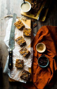 ... Pumpkin Swirl Brownies | Recipe | Swirls, Vegan Pumpkin and Brownies