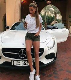 Best Luxury Cars For Women Mercedes Benz Automobile 63 Ideas Mercedes Girl, Mercedes Benz, Sexy Cars, Hot Cars, Bmw Girl, New Luxury Cars, Fancy Cars, Benz Car, Audi Cars