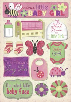 Karen Foster Design - Cardstock Stickers - Daddy's Girl at Scrapbook.com $2.19