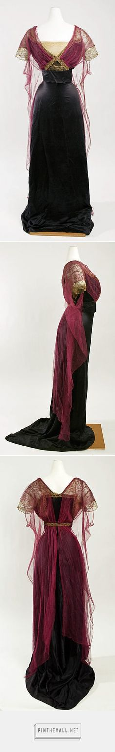 Evening dress by Callot Soeurs ca. 1911 French | The Metropolitan Museum of Art