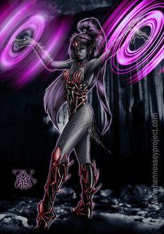 fantasy art drow | Female Drow Wizard by ~LazarusReturns on deviantART