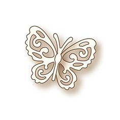 "Wild Rose Studio Specialty Die 1.35""X1.75"" Little Butterfly"