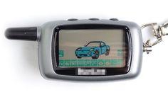 2016 neue Heißer Verkauf Starlionr A9 Starline LCD Fernbedienung Für Zweiwegautowarnungssystem Starline A9 Keychain Russische Version