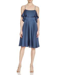MILLY Crepe Emmaline Dress