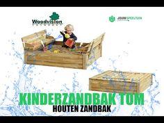 Zandbak Tom van WoodVision is een mooie compacte kinderzandbak gemaakt van groen geïmpregneerd grenenhout. De zandbak heeft een twéé-in-één constructie. De klep fungeert niet alleen om de zandbak af te dichten, maar ook als zitbankje. Deze zandbakken komen zonder bodem en is makkelijk te monteren. Kinderzandbak kopen? Tom S, The Creator