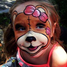 Face painting Teddy Bear