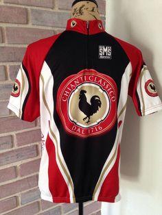 Santini Chianti Classico Cycling Short Sleeve Jersey Shirt XL Biking Race Italy | eBay