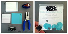 This Beautiful Life: DIY Business Cards