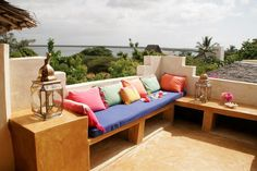 Magnificent rooftop chill out ~  Banana House, Kenya