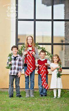 Stockings and Garland Christmas